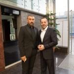 دکتر حسین خطیبی و علی انصاریان