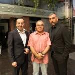 دکتر حسین خطیبی ، مسعود فروتن و علی انصاریان