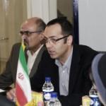 دکتر حسین خطیبی و آقای قدس