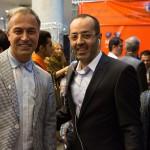 دکتر حسین خطیبی و دانیال حکیمی
