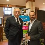 دکتر حسین خطیبی و جمال اجلالی
