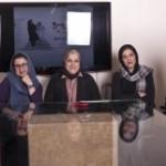 خانم ها طائرپور، نگار آذربایجانی و شایسته ایرانی