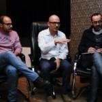 دکتر حسین خطیبی و پیمان حقانی